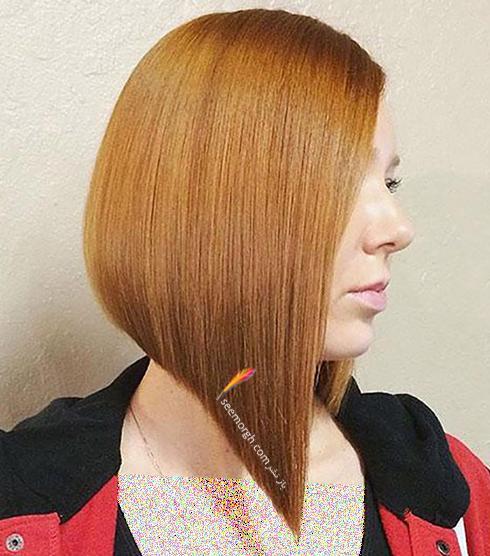 مدل مو زنانه برای صورت گرد - مدل مو شماره 12