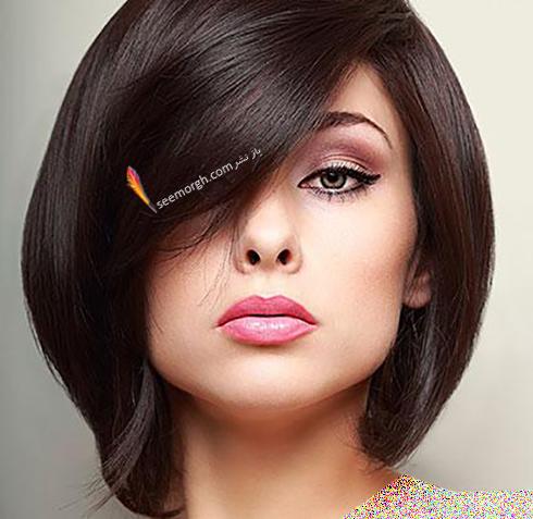 مدل مو زنانه برای صورت گرد - مدل مو شماره 10
