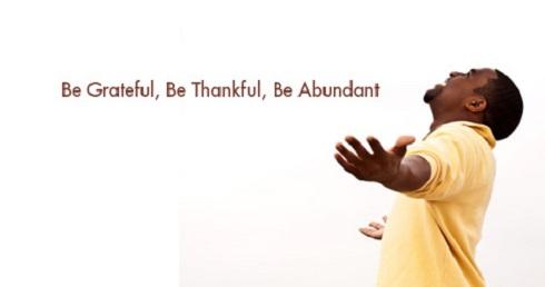 10. سپاسگزار باشید Be Grateful