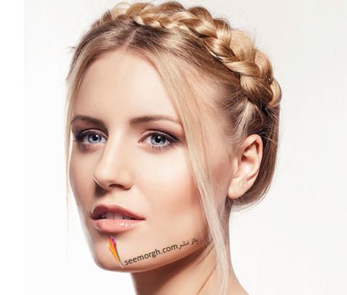 مدل مو زنانه برای صورت گرد - مدل مو شماره 1