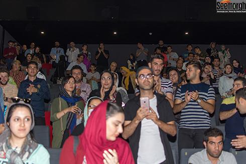استقبال مردم از اکران مردمی اکسیدان با حضور هدیه تهرانی