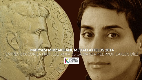 مریم میرزاخانی تنها زن برنده  *مدال فیلدز Fields Medal