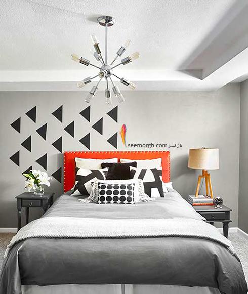 نورپردازی اتاق خواب های کوچک را فراموش نکنید