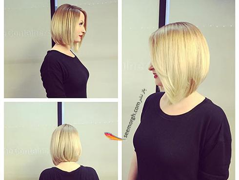 مدل مو زنانه برای صورت گرد - مدل مو شماره 3