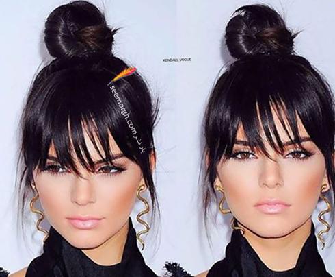 مدل مو زنانه برای صورت گرد - مدل مو شماره 2