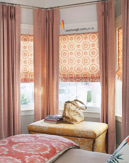 پرده های بلند اتاق خواب کوچک تان را بزرگتر نشان می دهد