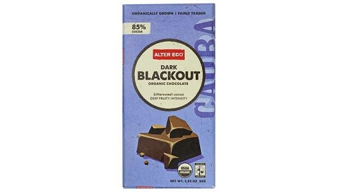 بارهای شکلات تلخ ارگانیک 85% ر اکو
