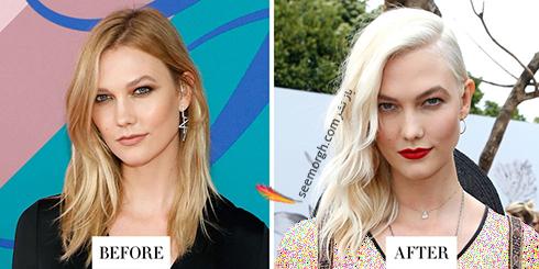 مدل مو جدید کارلی کلوس karlie kloss