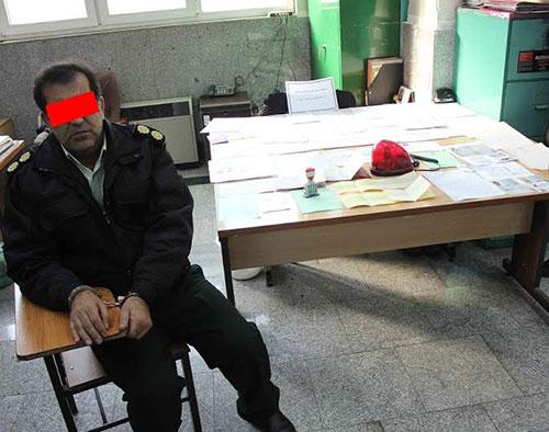 سرهنگ قلابی دستگیر شد