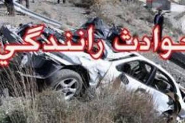 4 کشته و زخمی در برخورد مرگبار دو خودرو سواری