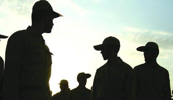 همایشی برای سربازان برتر ارتش ایران