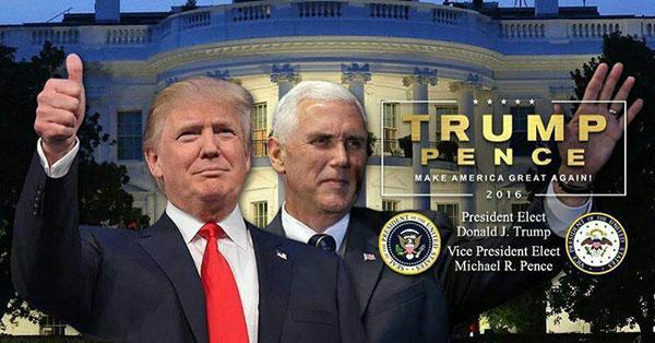 تصویری که ترامپ در توییترش منتشر کرد