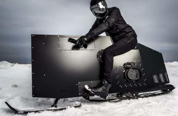 ساخت اولین ماشین برف پیمای مفهومی