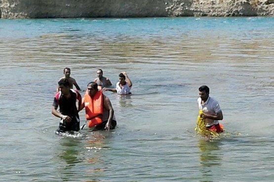 جسد جوان غرق شده در رودخانه زیاران قزوین همچنان مفقود است