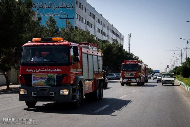 سقوط آسانسور ناایمن مسجد و مصدومیت سه زن میانسال