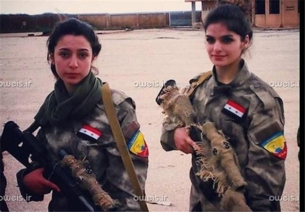 دخترانی که بلای جان داعش شده اند +عکس