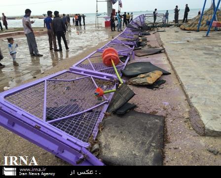 ناپدید شدن پنج نفر درحادثه سیش در دیر بوشهر