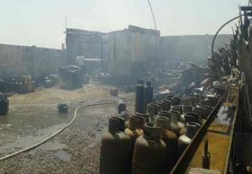 انفجار گاز در ورامین
