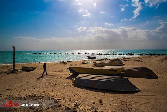 جزیره زیبای هنگام در خلیج فارس