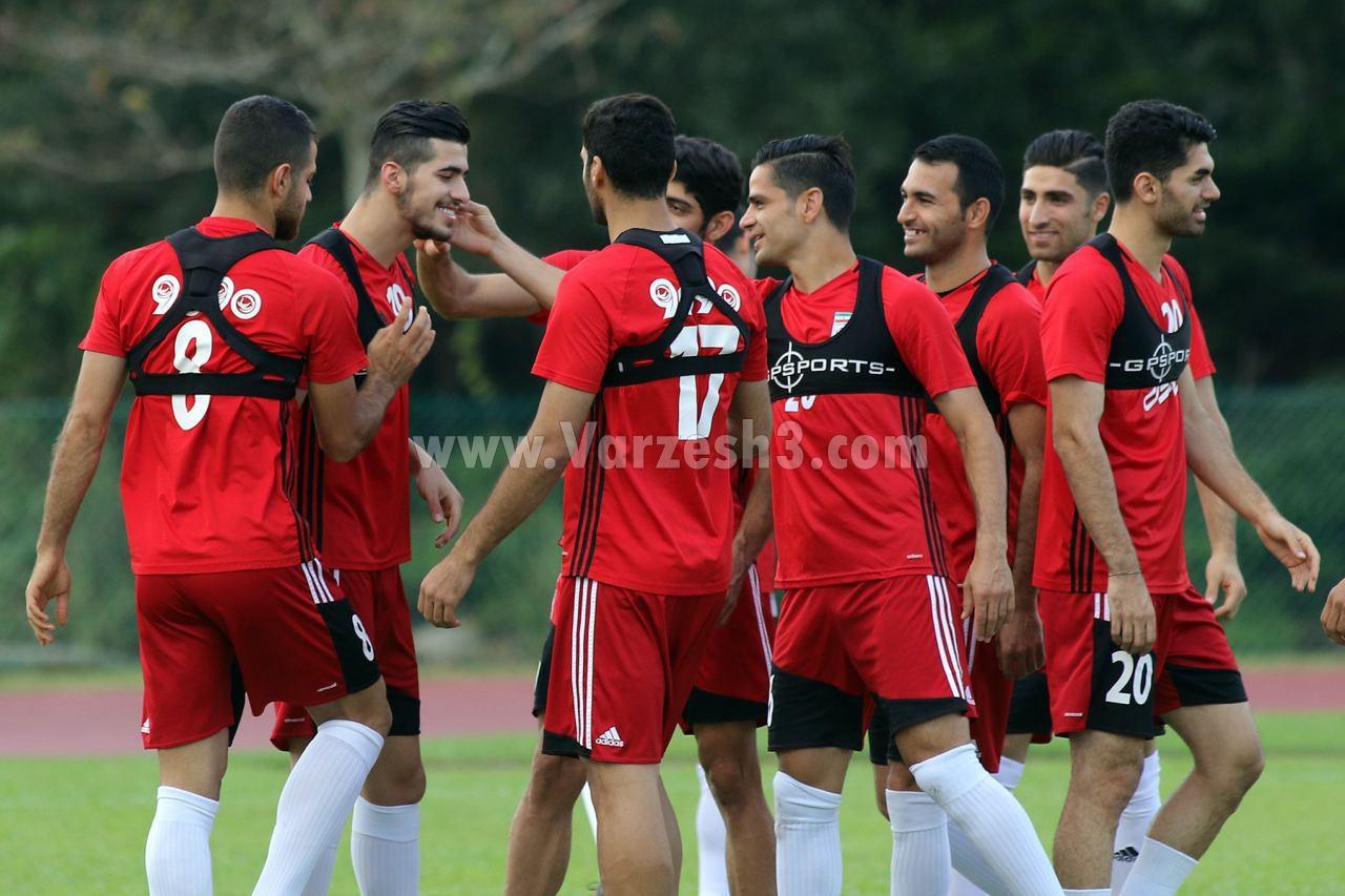 گزارش تصویری از شوخی و خنده در اردوی تیم ملی