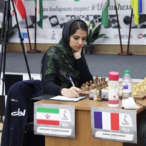 بانوی شطرنجباز ایران چهارم شد