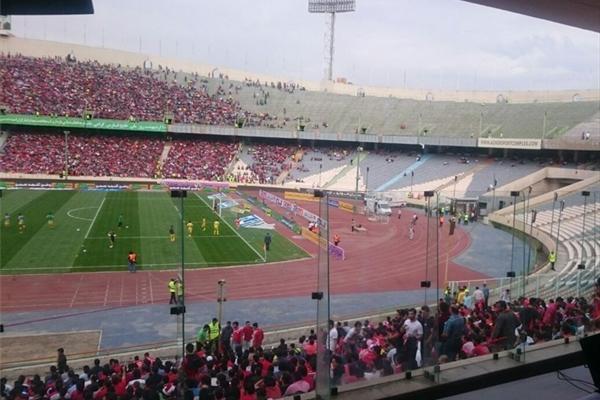 ورزشگاه آزادی در فاصله 4 ساعت مانده به جشن قهرمانی