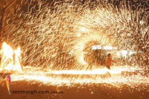 چهارشنبه سوری و رقص با آتش!