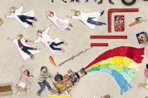 عکسهای جالب یک عکاس و استفاده از 250 کودک برای یک کتاب تصویری