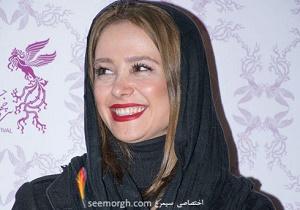 الناز حبیبی, جواد عزتی و ریما رامین فر در فرش قرمز روز نهم جشنواره