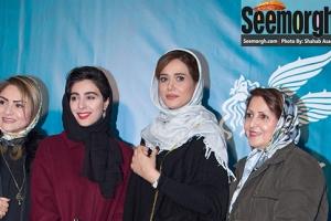 ششمین روز جشنواره فجر35: بازیگران فیلم ویلایی ها