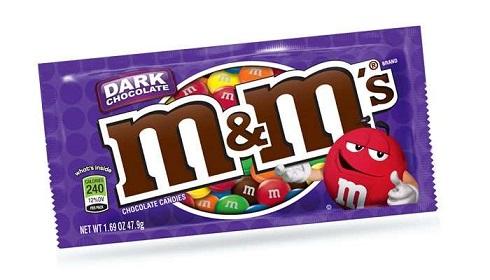 شکلات تلخ ام اند ام