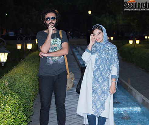 دیبا زاهدی و حسام محمودی