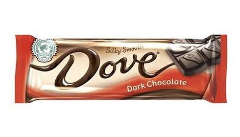شکلات تلخ نرم و لطیف تک بار داو