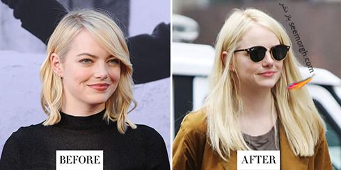 مدل مو جدید اما استون Emma Stone