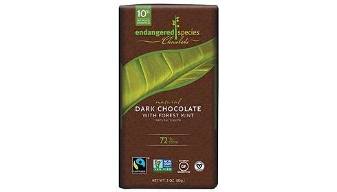 شکلات تلخ 72% با طعم نعنای وحشی ایندنجرد