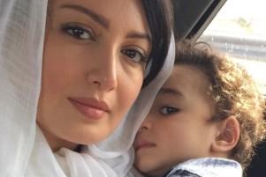 عکس جدید شیلا خداداد به همراه همسر و پسرش