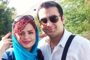 عکس جدید سپیده خداوردی در دوران بارداری به همراه همسرش