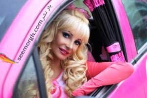 شباهت های زن 28 ساله به عروسک باربی!! عکس