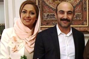 عکس های مراسم عقد محسن تنابنده و همسرش روشنک
