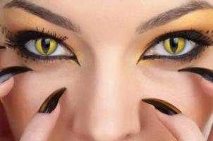 جراحی جدید زیبایی در تهران: منتظر زنان چشم گربه ای باشید!! عکس