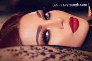 هیفا وهبی خواننده زن عرب با روسری و بدنی برهنه!!