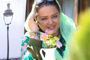 بهاره افشاری و بهرام رادان در کافه بهاره رهنما! عکس
