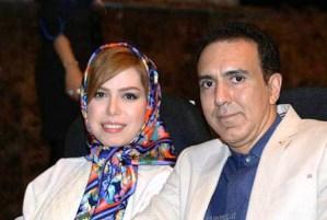 عکس های مزدک میرزایی مجری تلویزیون در کنار همسرش
