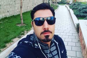 عکس احسان خواجه امیری از شیطنت پسرش !!