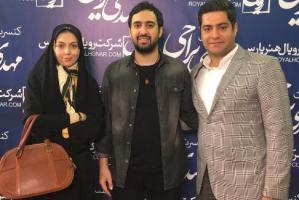 عکس های جدید آزاده نامداری و همسرش در کنسرت مهدی یراحی