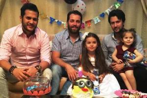 جشن تولد دختر آقای بازیگر با حضور شاهرخ استخری و سیاوش خیرابی! عکس