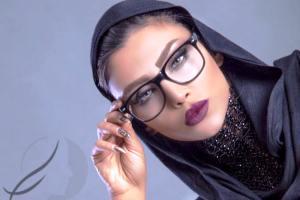 عکس الهام عرب قبل و بعد از آرایش