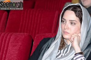 ظاهر بهنوش طباطبایی در مراسم عباس کیارستمی! عکس