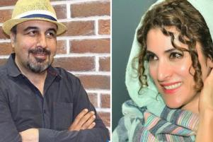 عکس جدید از گریم ویشکا آسایش و رضا عطاران در نهنگ عنبر 2