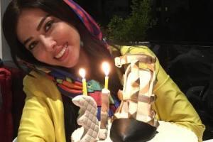 جشن تولد 33 سالگی لیلا اوتادی با کیک های مختلف!+ عکس